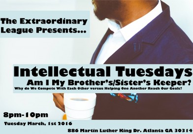 Intellectual Tuesday- Am I My Brothers/Sister's Keeper?