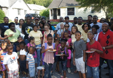 Community Clean Up/Back To School Drive